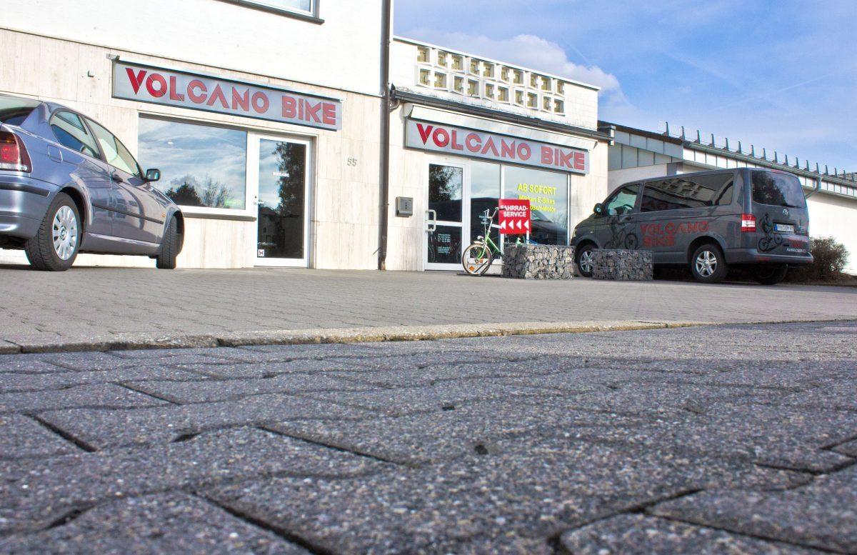 Volcano Bike - Fahrradgeschäft und Fachwerkstatt zwischen Andernach & Mayen - Aussenansicht