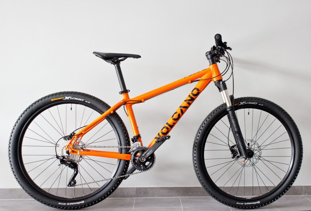 VOLCANO BIKE - Mountainbike Orange